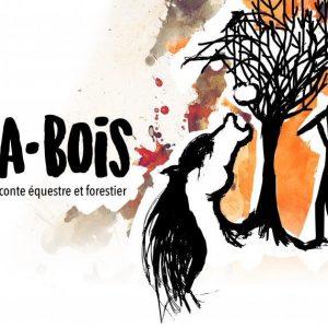 Visuel spectacle A•bois
